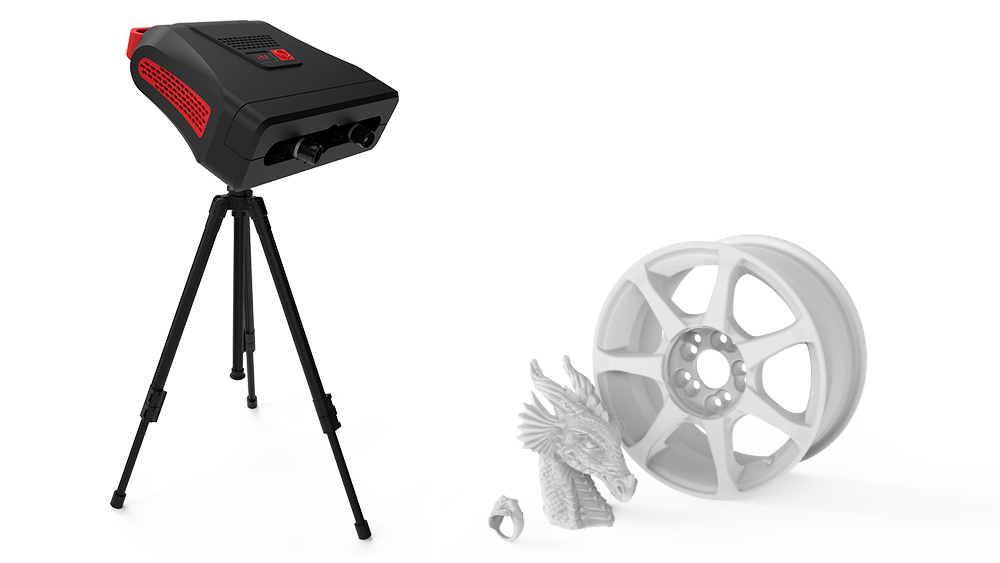RangeVision will present renewed professional 3D scanner in